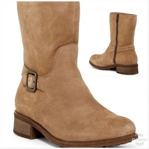 Ugg Keppler Genuine Shearling Lined Boots Chestnut